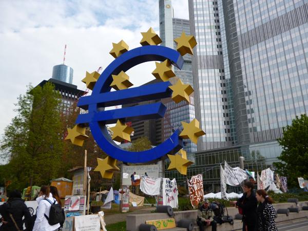 Frankfurt-EU-Bank